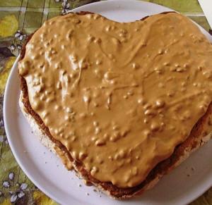 торт с безе и бисквитом рецепт с фото