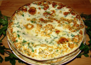 блинчики с зеленью рецепт с фото