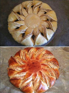 сладкий пирог с корицей фото