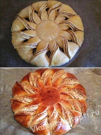пироги из дрожжевого теста сладкие рецепты с фото