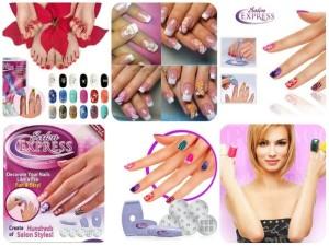 Набор для печати на ногтях в домашних условиях «Salon Express»