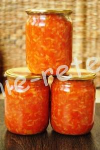 салат из риса и овощей фото