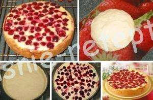 сметанник с ягодами рецепт с фото