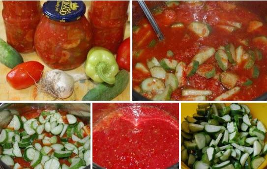 Салат с огурцами «Зимняя сказка»