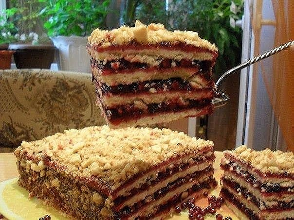 Домашний вкусный торт