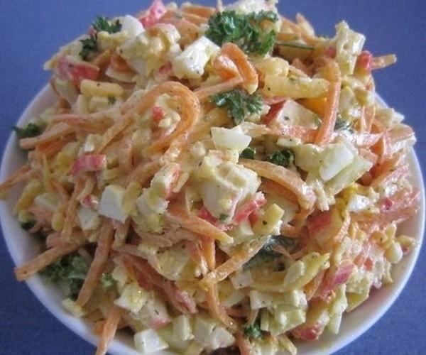 очень простой салат