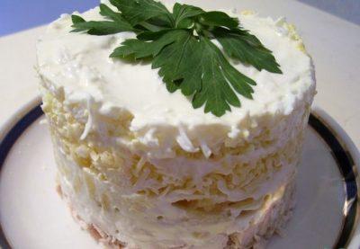 Замечательный салат «Оля-ля»