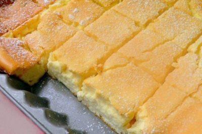 Представляем вашему вниманию нежный творожный десерт