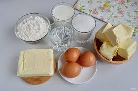 Торт «Наполеон» на сковородке ингредиенты