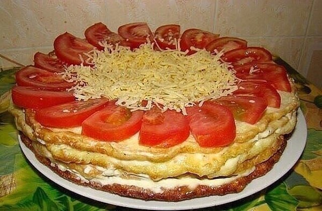 Закусочный тортик из кабачков: НЕВЕРОЯТНО ВКУСНОЕ И ПОЛЕЗНОЕ УГОЩЕНИЕ ДЛЯ ВСЕЙ СЕМЬИ!