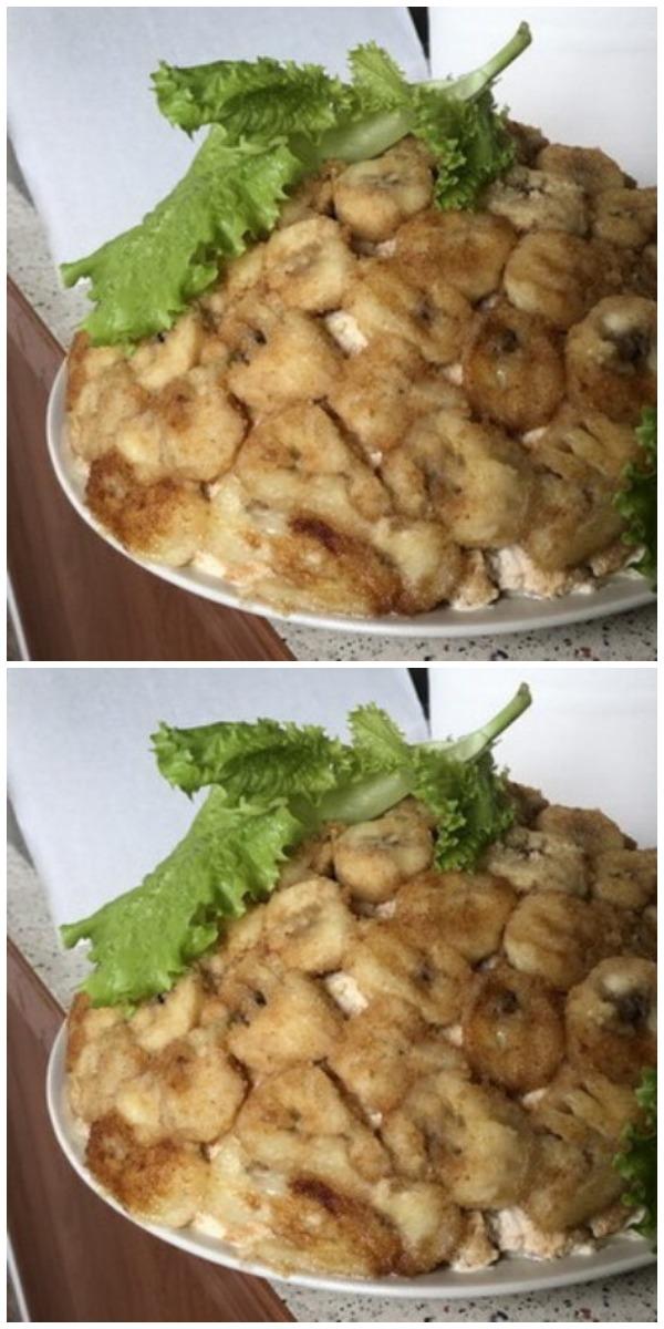 Салат «Император» — моё коронное блюдо на праздничном столе. Съедаем, до крошки!