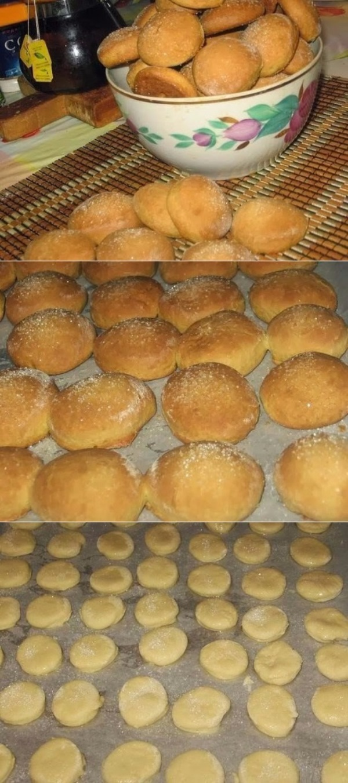 Домашнее мягкое печенье на сметане, которое разлетается со стола в считанные минуты