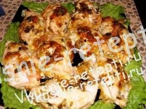 Фаршированное куриное филе,  фото