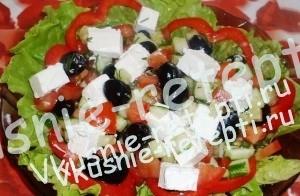 салат Греческий, рецепт с фото