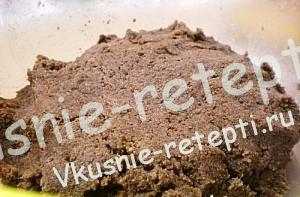 Как приготовить мастику для торта, пошагово,крем смешиваем с бисквитной крошкой, фото