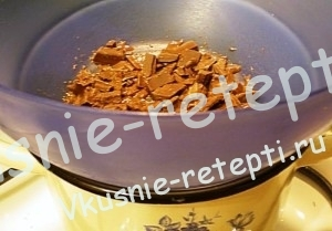Как приготовить мастику для торта, пошагово,растапливаем шоколад, фото