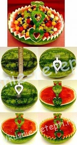 Карвинг из фруктов, фото