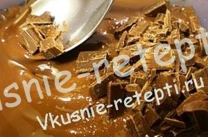 Как приготовить мастику для торта, пошагово,растворяем шоколад, фото