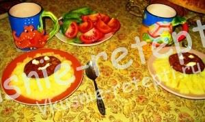 овощные детские котлеты, Детское питание