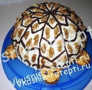 вкусный торт Черепаха в домашних условиях, фото