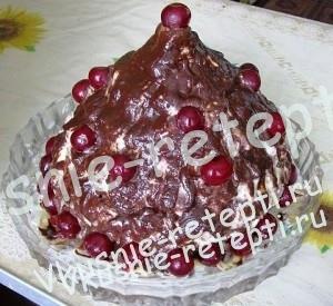 Торт  Кучерявый  Хлопец, рецепт с фото