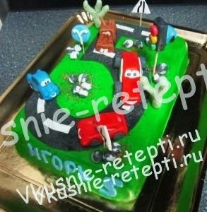 детский торт для мальчиков  Черепаха фото