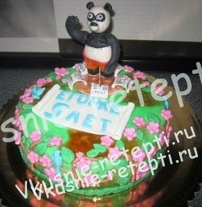 детский торт на день рождение мишка