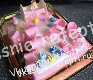 Муравейник детский торт для девочки