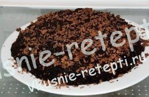 Шоколадный торт в микроволновке за 30 минут, фото