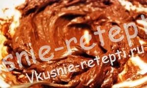 пошаговый рецепт шоколадного торта в микроволновке за 30 минут, фото