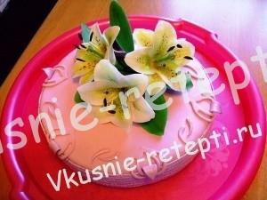Торт трюфель на 8 марта, фото