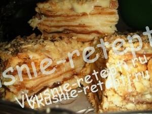 Домашний торт Наполеон классический рецепт , фото
