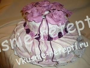 торт свадебный Зебра