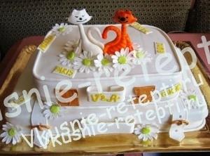 торт свадебный дамский каприз