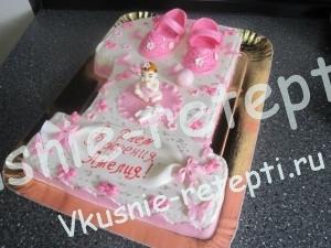 торт на годик, фото
