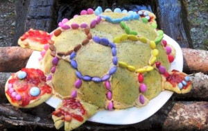 торт Черепашка Бисквитный фото