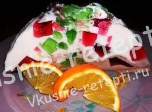 Торт битое стекло, фото