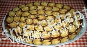 Торт без выпечки ЗАВИТОК, фото