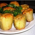 фаршированный картофель, фото
