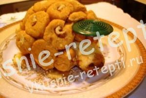 Десерт для детей черепаха под зонтиком