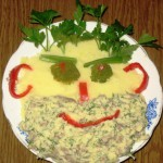 Забавная еда для детей, фото