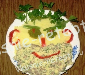 Забавная еда для детей