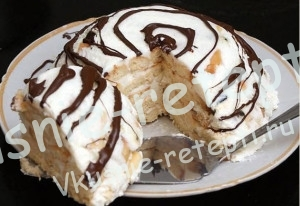 домашний торт, рецепт домашнего торта с фото