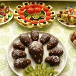 Вкусные ежики с грецкими орехами, фото