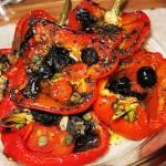 Вкусный запеченный перец по - итальянски,фото
