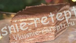 Торт Спартак рецепт