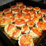 кабачки с помидорами, фото