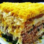 торт салат, фото