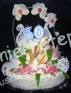 торт на юбилей, фото