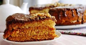бисквитный торт медовый фото